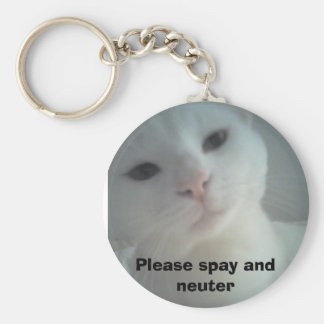 08-04-07_1734, Please spay and neuter Keychain