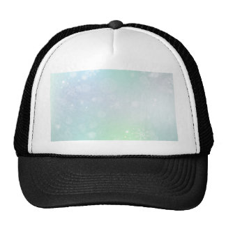 08 Winter Multicolor Snowflakes Trucker Hat