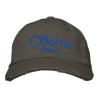 08ama, Missouri Embroidered Baseball Caps