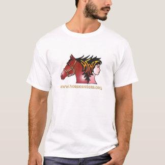 09 HORSESISTERS color logo T-Shirt