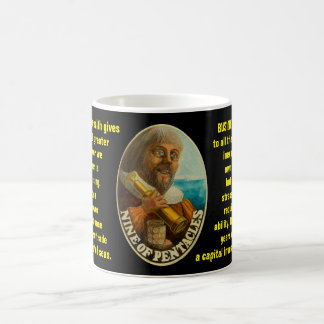 09. Nine of Pentacles - Sailor tarot Coffee Mug