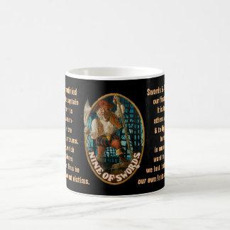 09. Nine of Swords - Sailor tarot Coffee Mug