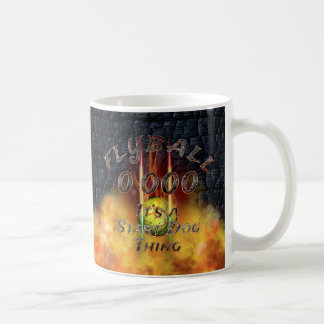 0.000 Flyball Flamz: It's A Start Dog Thing! Coffee Mug