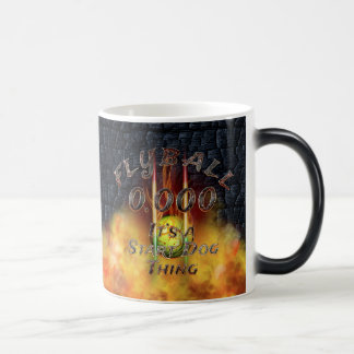 0.000 Flyball Flamz: It's A Start Dog Thing! Magic Mug
