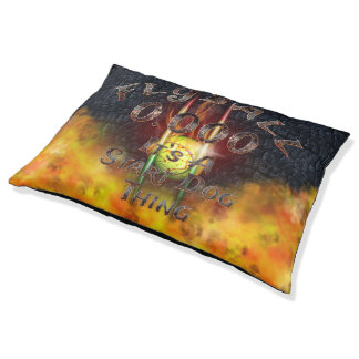 0.000 Flyball Flamz: It's A Start Dog Thing! Pet Bed