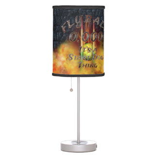 0.000 Flyball Flamz: It's A Start Dog Thing! Table Lamp