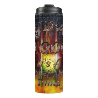 0.000 Flyball Flamz: It's A Start Dog Thing! Thermal Tumbler