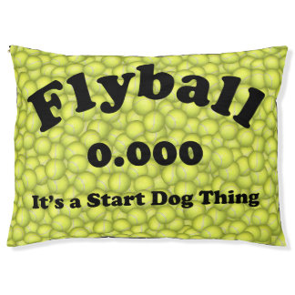 0.000, The perfect Start, It's A Start Dog Thing! Large Dog Bed