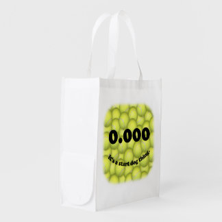 0.000, The perfect Start, It's A Start Dog Thing! Reusable Grocery Bag