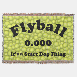 0.000, The perfect Start, It's A Start Dog Thing! Throw