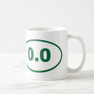 0.0 Green Coffee Mug