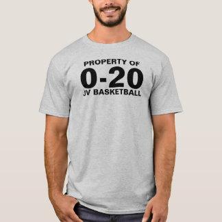0-20 Basketball T-Shirt