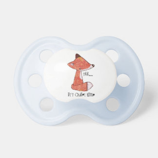 0-6 months Pacifier with fox image