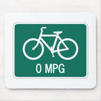 0 MPG Bicycle Mousepad