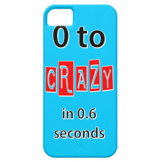 0 TO CRAZY iPhone 5 COVER