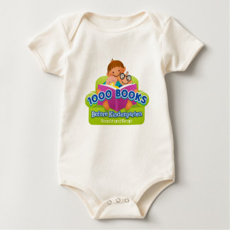 1000 Books Before Kindergarten Baby Bodysuit