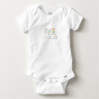 1000 Books Before Kindergarten Baby Onesie