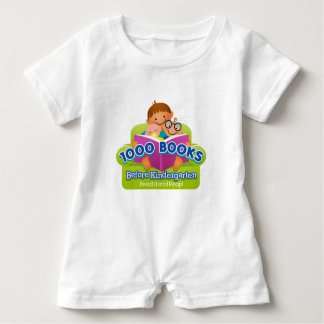 1000 Books Before Kindergarten Baby Romper
