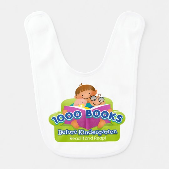 1000 Books Before Kindergarten Bib