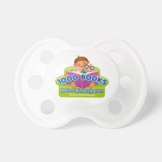 1000 Books Before Kindergarten Pacifier
