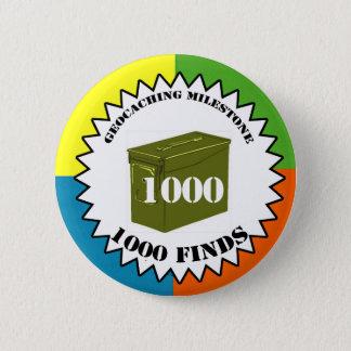 1000 Finds Milestone Button