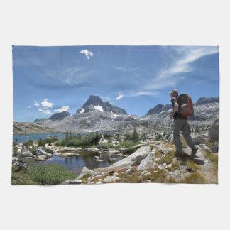 1000 Island Lake and Banner Peak - John Muir Trail Towel