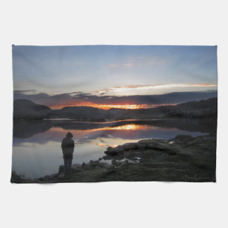 1000 Island Lake Sunrise - Ansel Adams Wilderness Towel