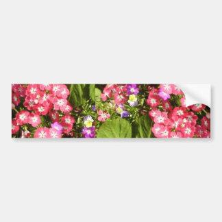 1000 Smiles - Beautiful Natural Flower Arrangement Bumper Sticker