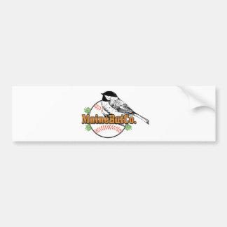 1000LARGECHICKADEEMBCLOGO.png Bumper Sticker