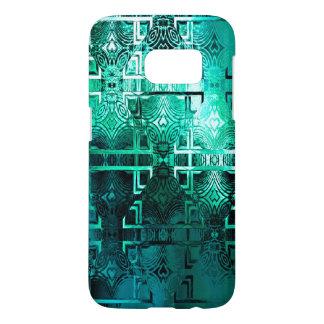 1001 Lights (emerald-jade) Samsung Galaxy S7 Case