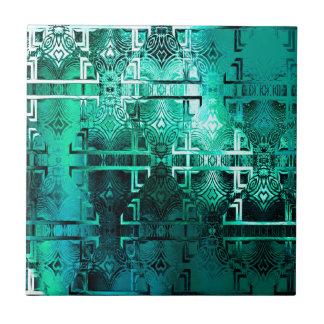 1001 Lights (emerald-jade) Tile