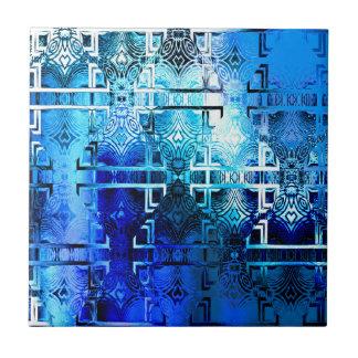1001 Lights (sapphire blue) Tile