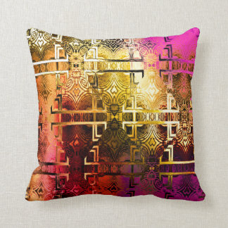 1001 Lights (save & applied) Throw Pillow