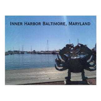1002001151, Inner Harbor Baltimore, Maryland Postcard