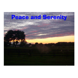 100_0287, Peace and Serenity Postcard