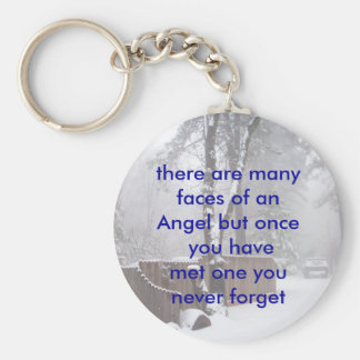 100_0320, there are many faces of anAngel but o... Keychain