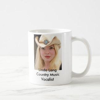 100_3458, Linda LangCountry Music Vocalist Coffee Mug