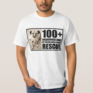 100+ Abandoned Dogs of Everglades Florida T-Shirt