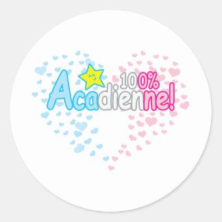 100 Acadienne-baby Girl Sticker