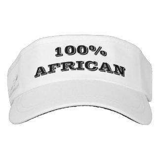 100%  AFRICAN VISOR