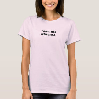 100% ALL NATURAL ladys top