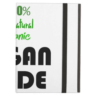 100% ALL NATURAL ORGANIC VEGAN DUDE COVER FOR iPad AIR