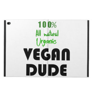 100% ALL NATURAL ORGANIC VEGAN DUDE POWIS iPad AIR 2 CASE