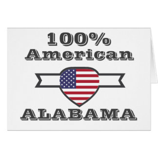 100% American, Alabama Card