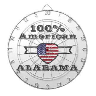 100% American, Alabama Dartboard