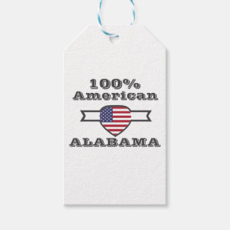 100% American, Alabama Gift Tags