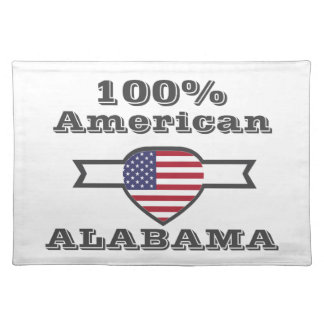 100% American, Alabama Placemat