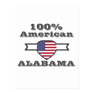 100% American, Alabama Postcard