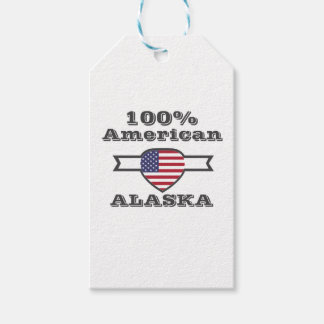 100% American, Alaska Pack Of Gift Tags