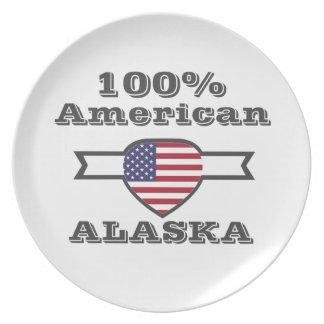 100% American, Alaska Plates